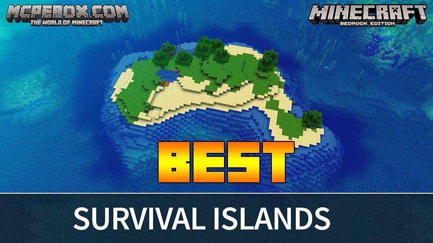 best Minecraft PE survival island seed