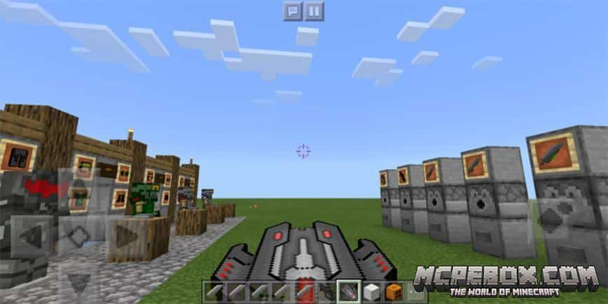 Combat Gears Addon for MCPE