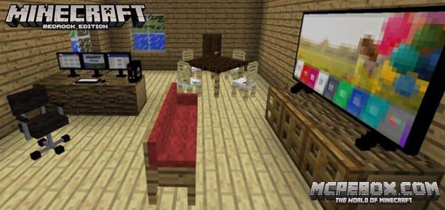 Decoration Addon for MCPE