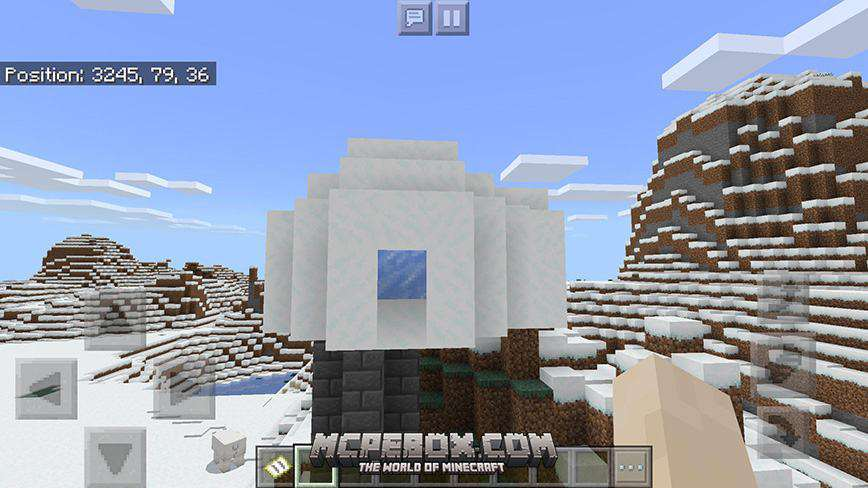 Village Attached to Ice Spike/Jungle/Giant Spruce Taiga Biome Combo! Seed