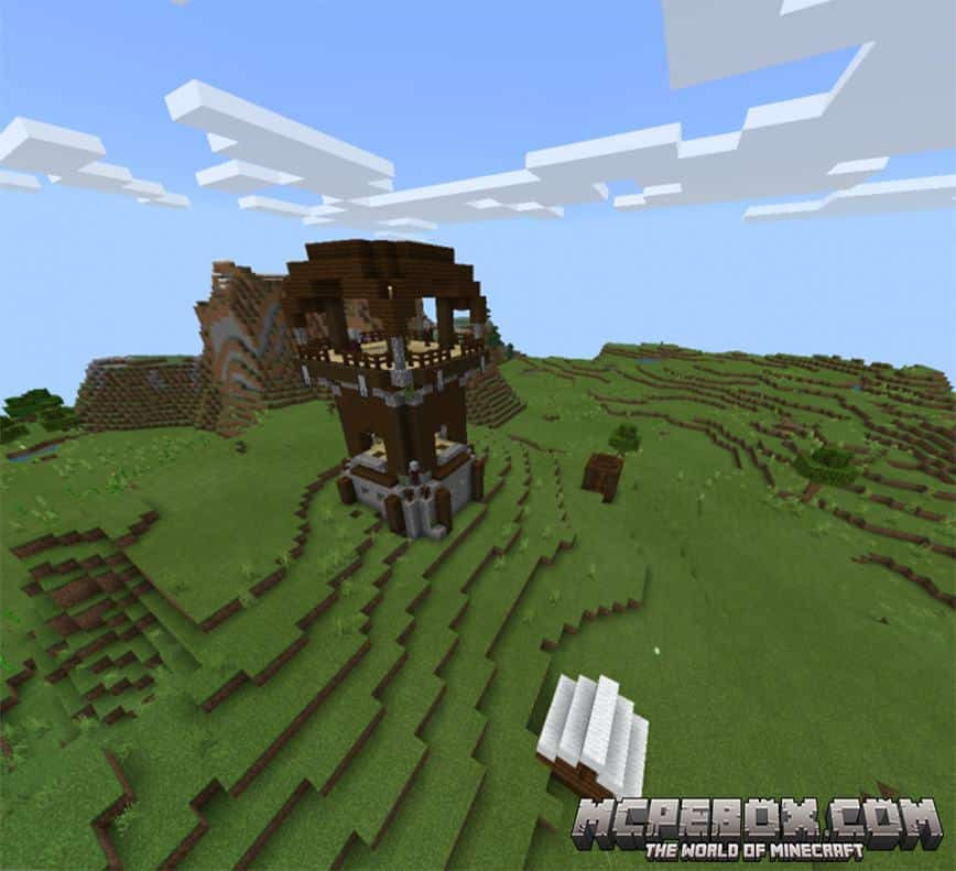 Village, Pillager Outpost, & Witch Hut At Spawn Seed