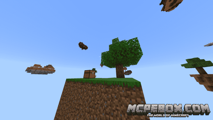 maps for MCPE skyblock
