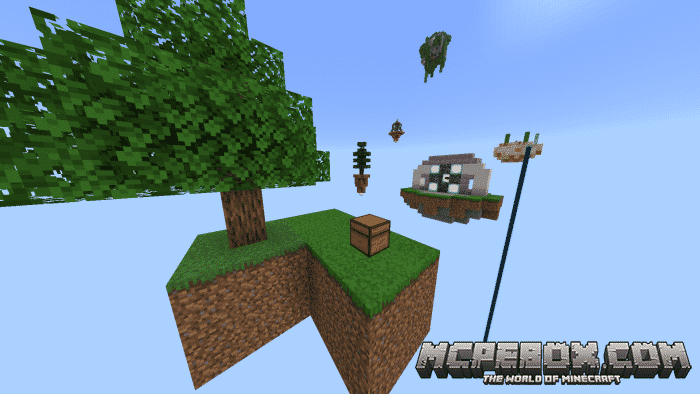 The top 5 Skyblock Maps for Minecraft PE - Bedrock Edition