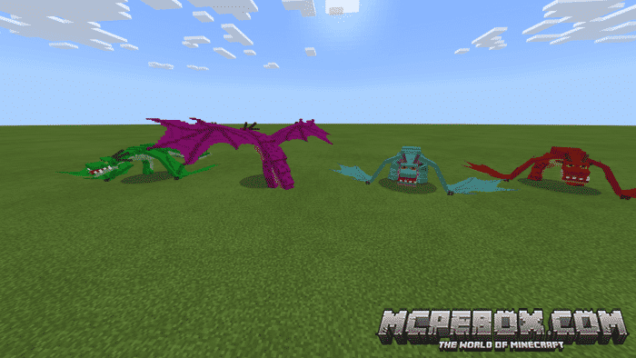 The top 5 Dragon Mods for Minecraft PE - Bedrock Edition