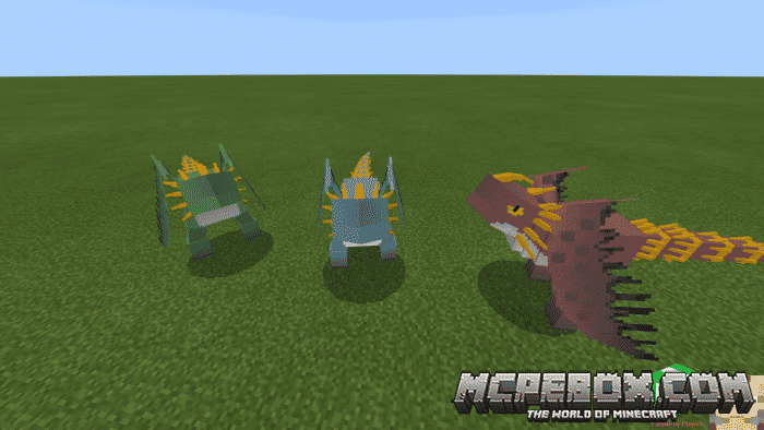 dragon mods for minecraft pe
