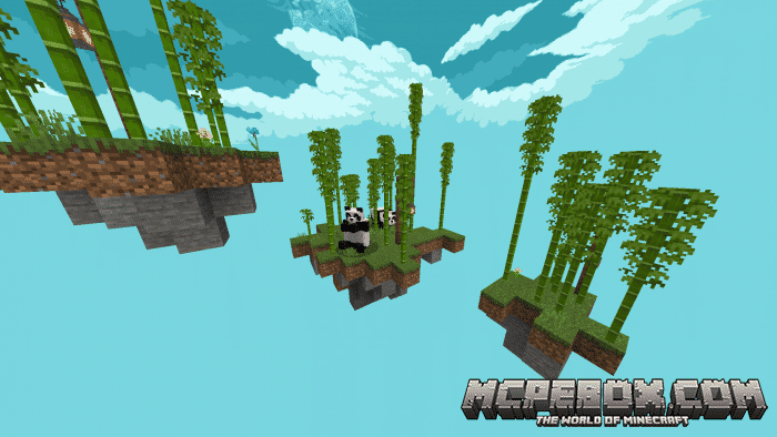 skyblock maps for minecraft pe