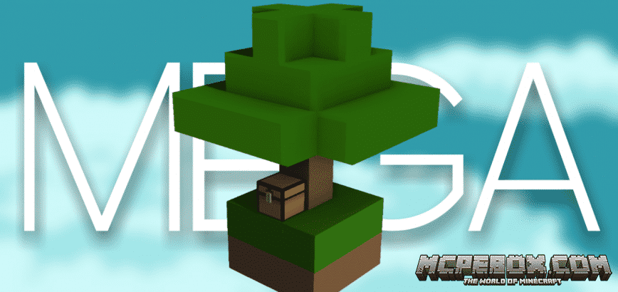 Mega Skyblock Map for Minecraft PE