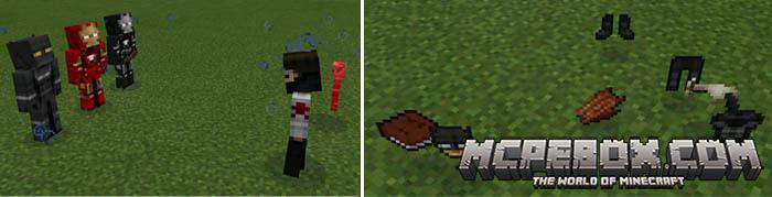 ant man mod for Minecraft PE