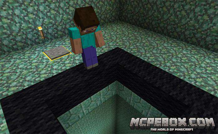 The X Dropper Map for MCPE