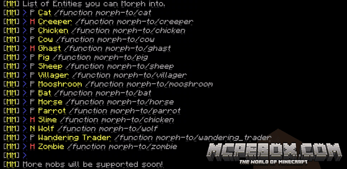 Visual Morph Beta (Function's Pack) [1.11+]