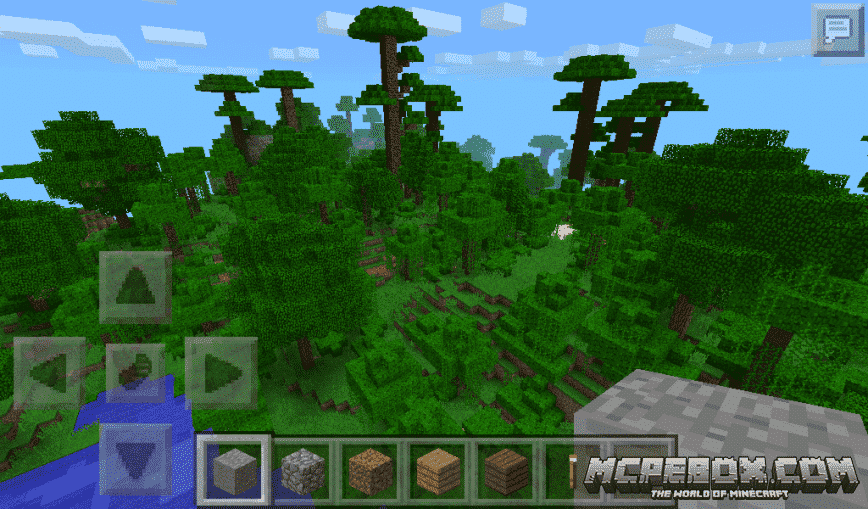 The best Minecraft PE Jungle Seeds - Bedrock Edition