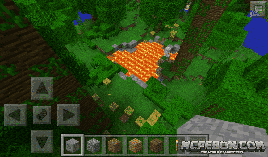 seeds for minecraft pe that spawn you in a jungle