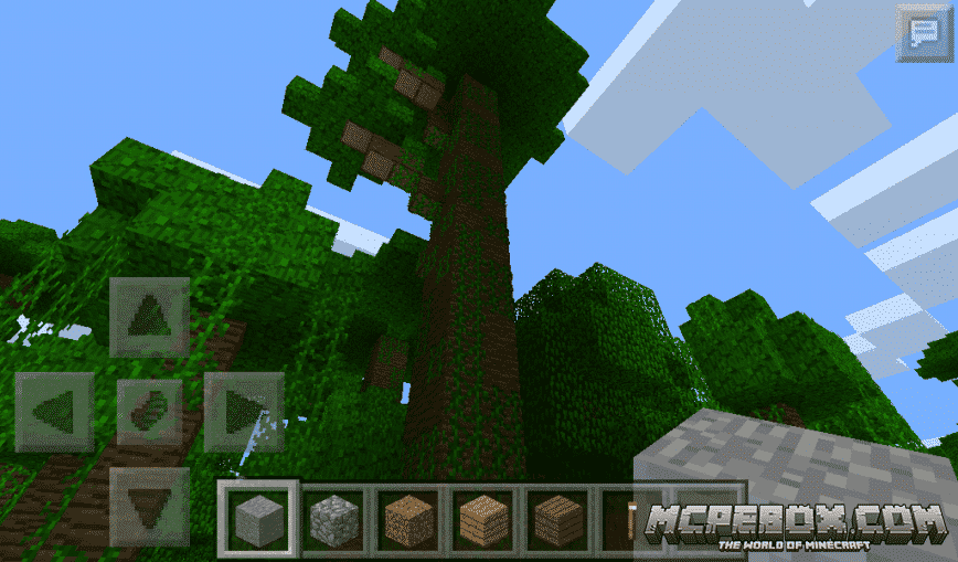 seeds for minecraft pe forest