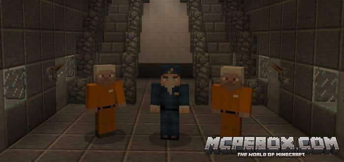 Prison Life minigame maps for Minecraft Bedrock Edition