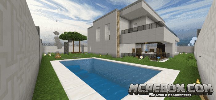 house maps for MCPE