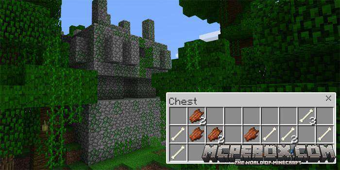 seeds for minecraft pe jungle temple