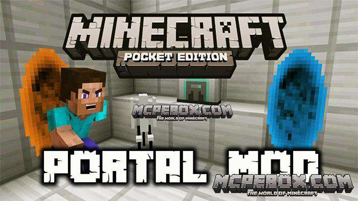 Portal Mod for Minecraft PE