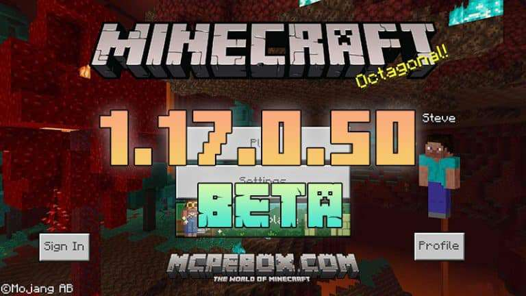 Download Minecraft PE Beta – 1.17.0.50 APK for Android