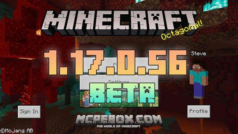 Download Minecraft PE 1.17.0.56 Beta APK for Android