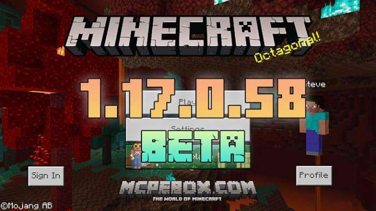 Download Minecraft PE 1.17.0.58 BETA for Android