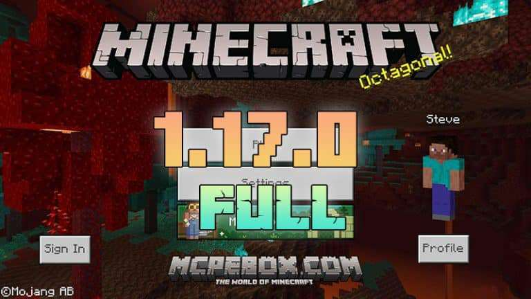 Download Minecraft PE 1.17.0.02 APK FULL for Android