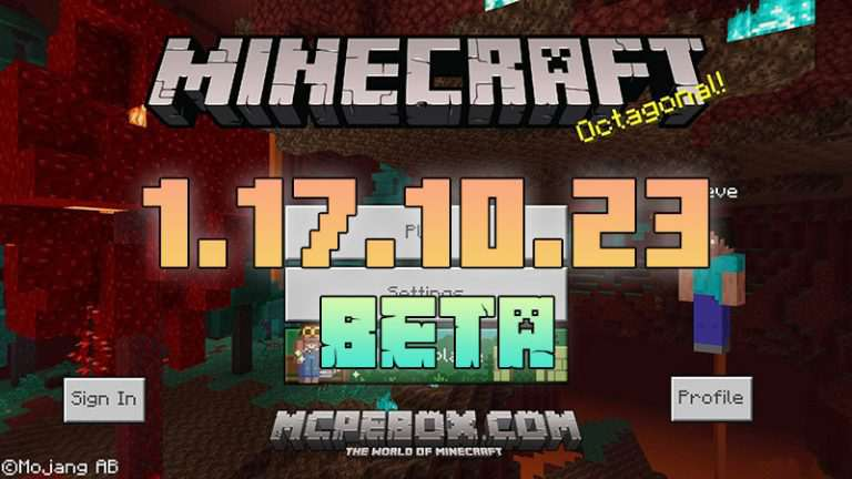Download Minecraft PE 1.17.10.23 Beta APK for Android